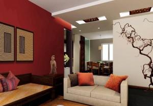 Rosul, culoarea de baza in decorarea apartamentului