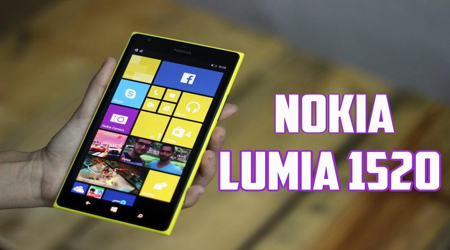 Nokia Lumia 1520 – un Windows Phone interesant