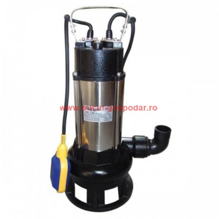 3 tipuri de pompe pentru apa murdara