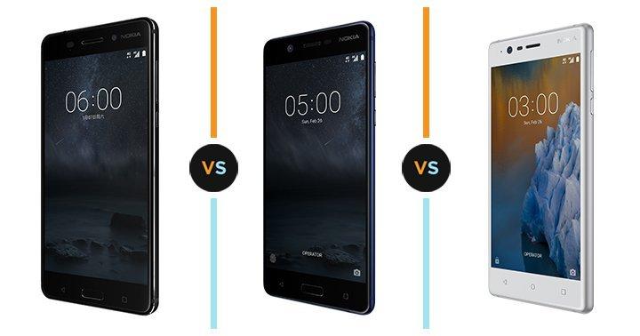 Nokia 6, Nokia 5 si Nokia 3 s-au lansat pe 13 Iunie
