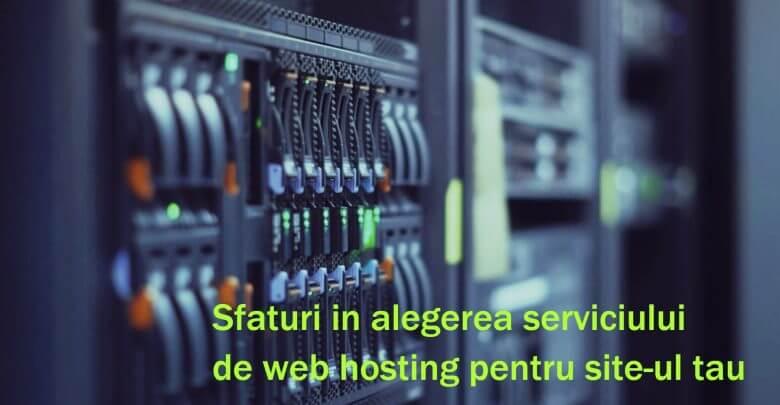 Cum se poate alege webhosting-ul?