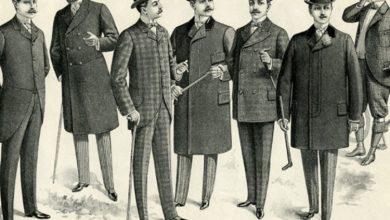 Istoria costumului barbatesc