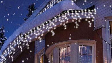 Beneficiile luminilor LED de Craciun