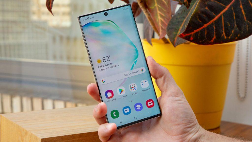 Remedierea ecranului pentru Galaxy Note 10
